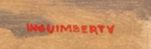 Jospeh Inguimberty signature