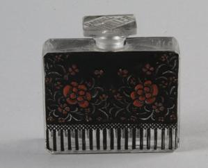 Flacon en verre Lalique