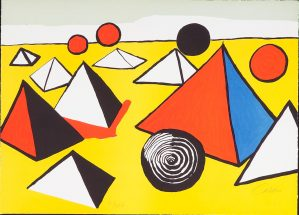 Lithographie Calder