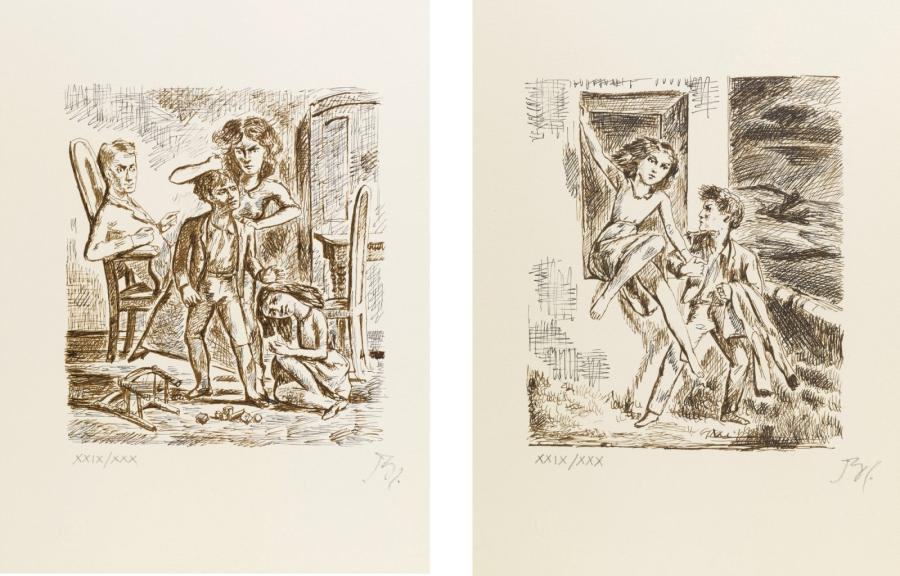 Lithographies Balthus
