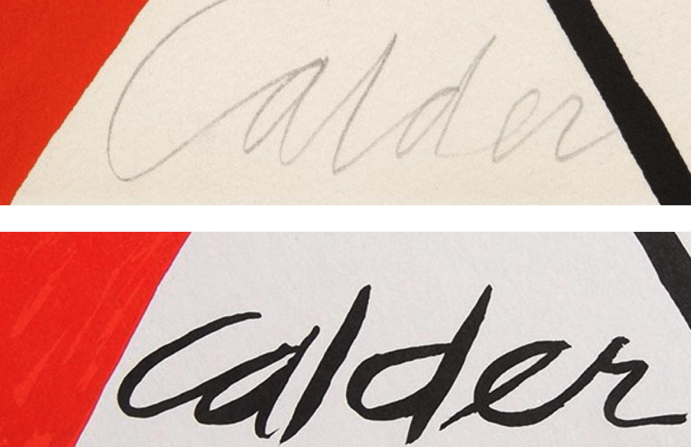 expertise signature calder