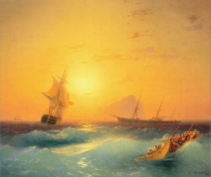 Peinture Ivan Constantinovich Aivazovsky
