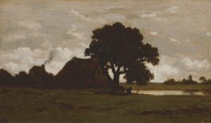 Peinture Théodore ROUSSEAU