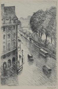 Dessin-aquarelle Albert MARQUET