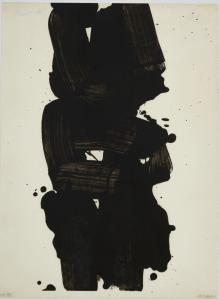 lithographie Pierre Soulages