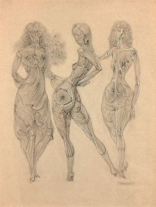 dessin Hans bellmer