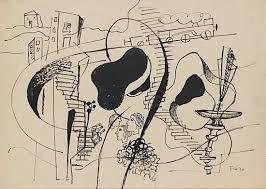 Estimation dessin Fernand léger