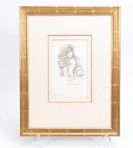 Estampe Auguste Renoir
