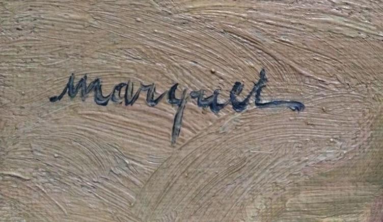 expertise signature marquet