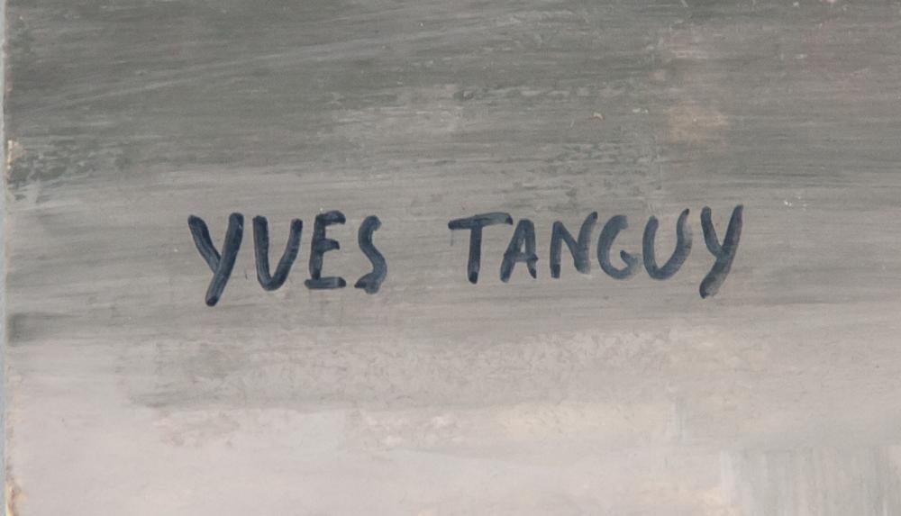 expertise signature yves tanguy