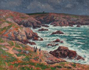 Peinture Henry Moret