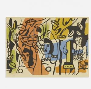 Estampe Fernand Léger