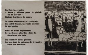 Lithographie Jean Dubuffet