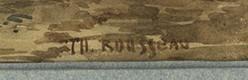 expertise signature théodore rousseau