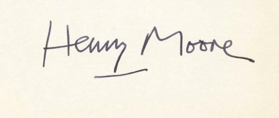expertise signature henry moore