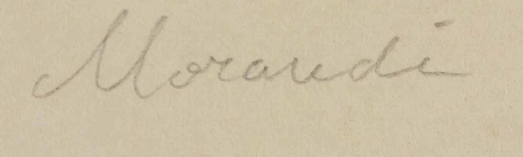 expertise signature giorgio morandi