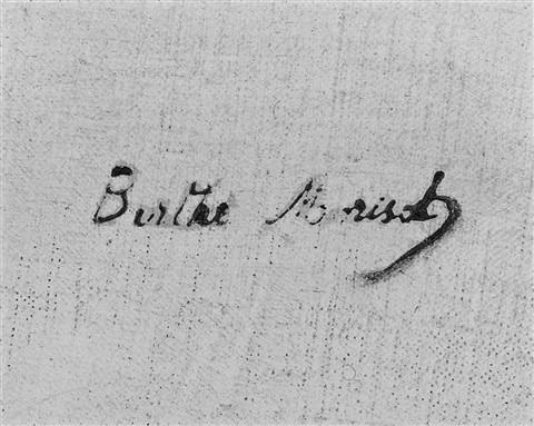 expertise signature berthe morisot