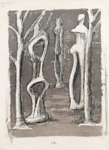 Lithographie Henry Moore