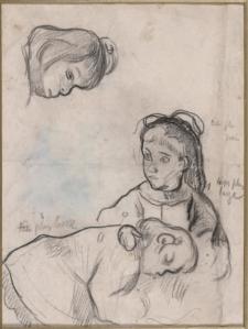 Paul Gauguin dessin