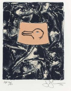 Lithographie Jasper Johns