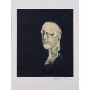 estampe de Francis Bacon