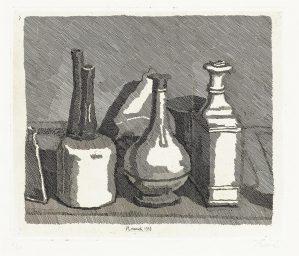 gravure Giorgio Morandi