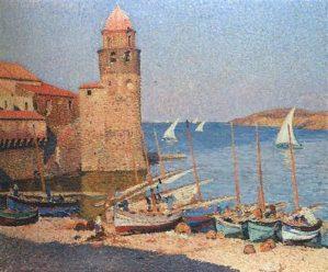 Peinture Henri Martin