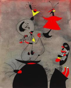 Dessin Joan Miro