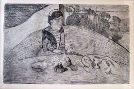 Paul Gauguin gravure