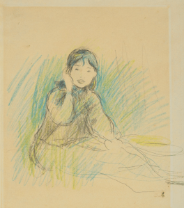 Dessin Berthe Morisot.