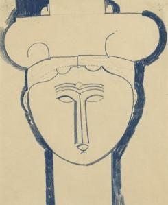 Dessin Amedeo Modigliani