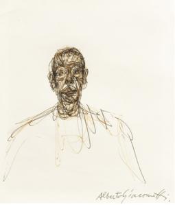 Estampe Alberto Giacometti