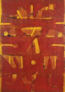 Peinture Vasudeo S. Gaitonde