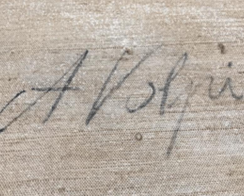 Expertise signature alfredo volti