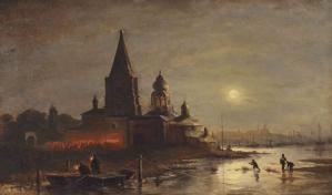Peinture Alexei Petrovich Bogoliubov