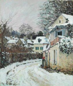 Peinture Alfred Sisley
