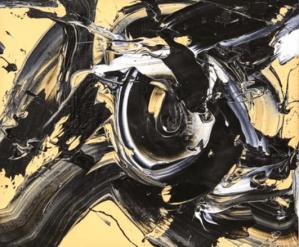 Peinture Kazuo Shiraga