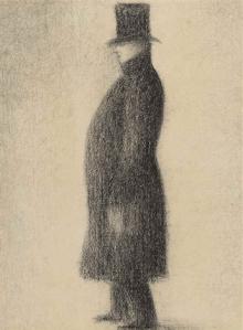 Dessin Georges Seurat