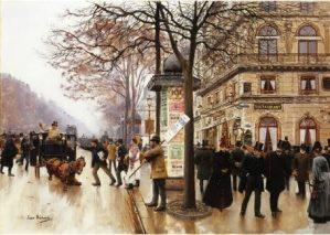 Peinture Jean Béraud