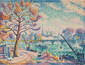 Peinture Paul Signac