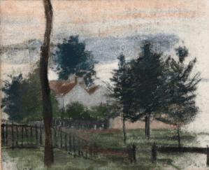 Dessin Camille Pissarro