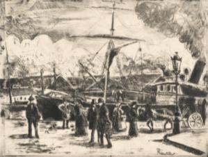 Estampe Camille Pissarro