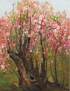 Peinture Wu Guanzhong