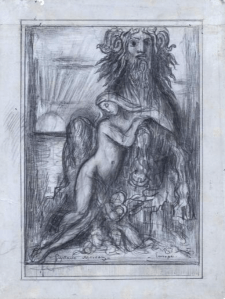 Dessin Gustave Moreau
