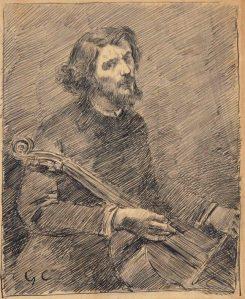 Dessin Gustave Courbet