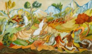 Peinture Lado Gudiashvili