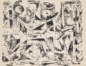 Estampe Jackson Pollock