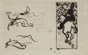 Pierre Bonnard dessin