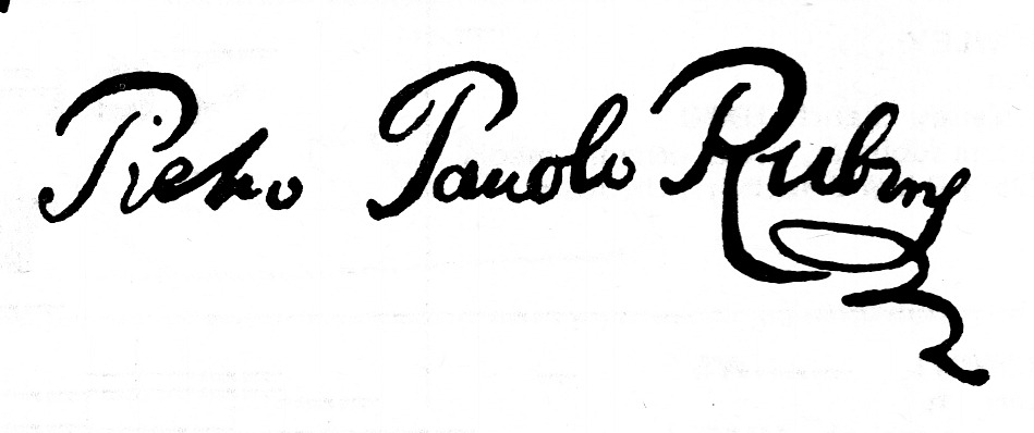 expertise signature rubens