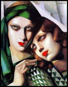 Peinture Tamara de Lempicka